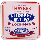 Thayers Slippery Elm Lozenges Cherry 42 Lozenges