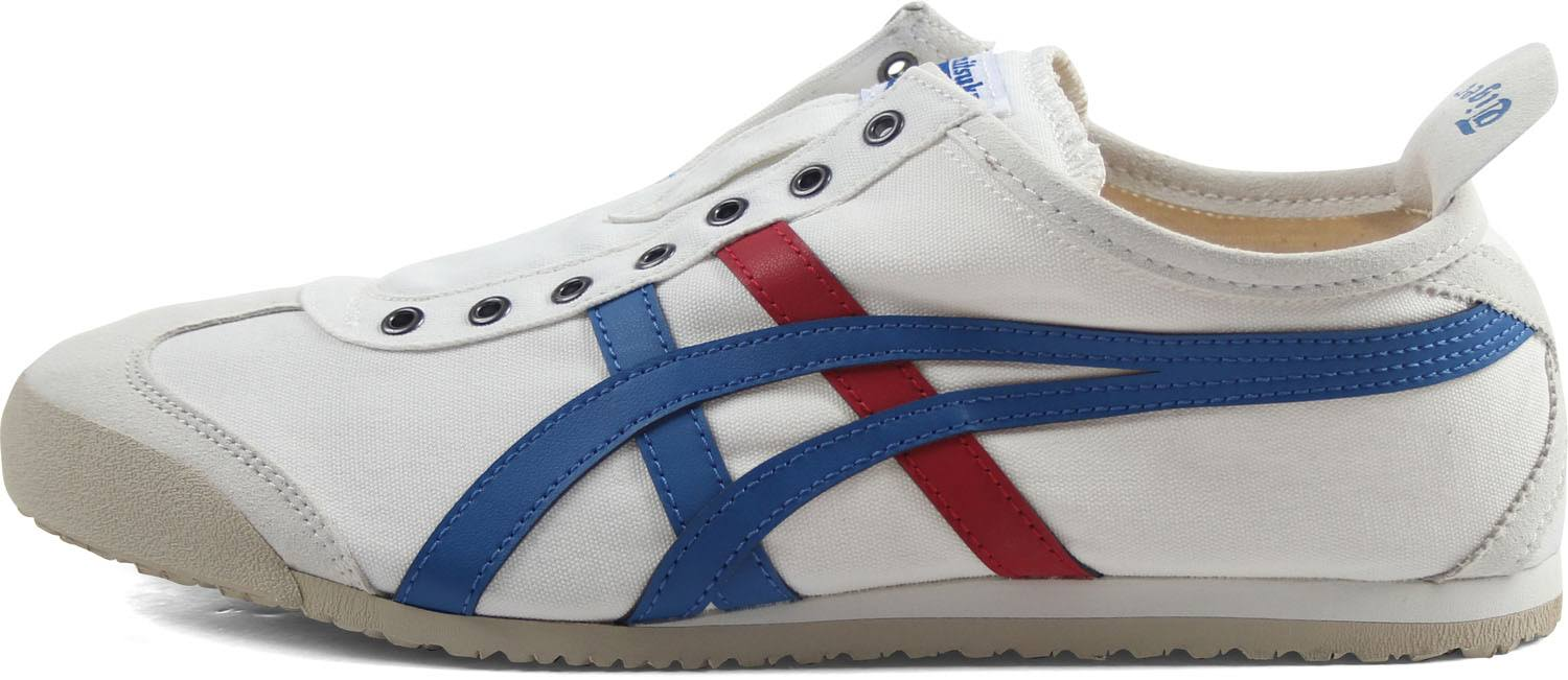on blanco Tiger Tricolor Mexico Slip Onitsuka 66 6 Men 0 pvdqX