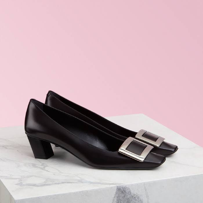 Leather VivierPumps Roger Roger Leather Belle Belle Black VivierPumps rBWxCoQde