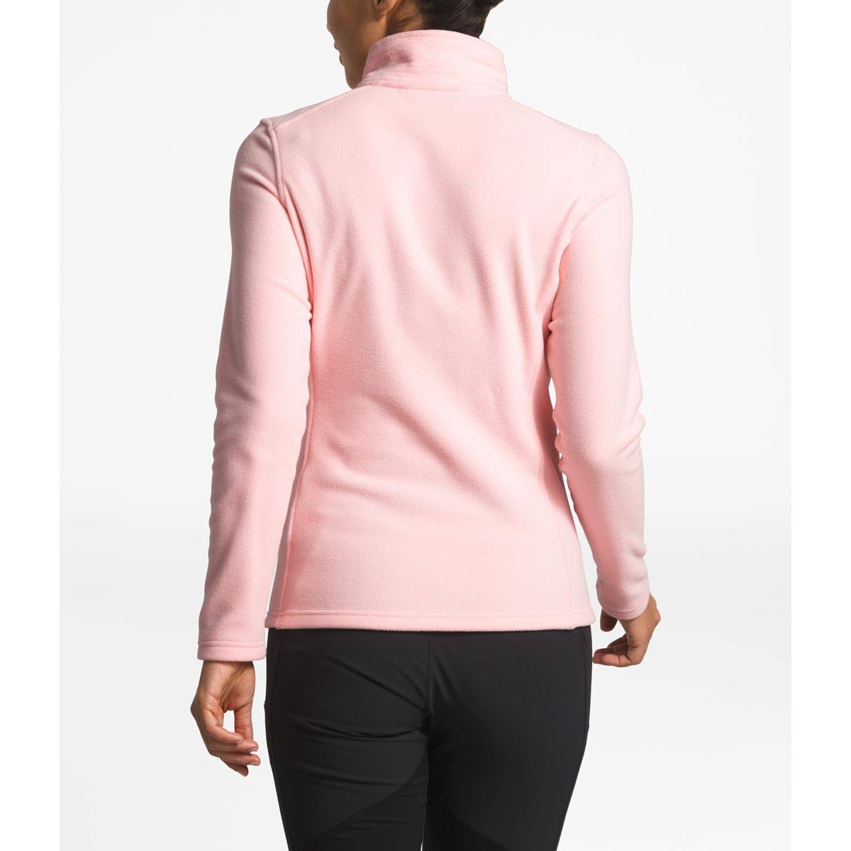 Zip Face North Salt 14 Fleece Womens Pink Glacier The 15IwxHqUU
