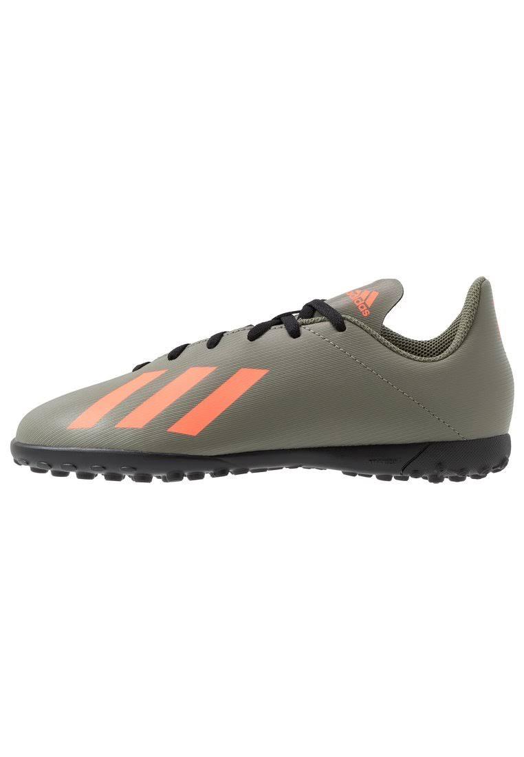 Adidas x 19.4 Childrens Asto Turf Trainers - LegGreen/Orange
