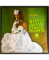 Glittered Herb Alpert and the Tijuana Brass Whipped Cream Album