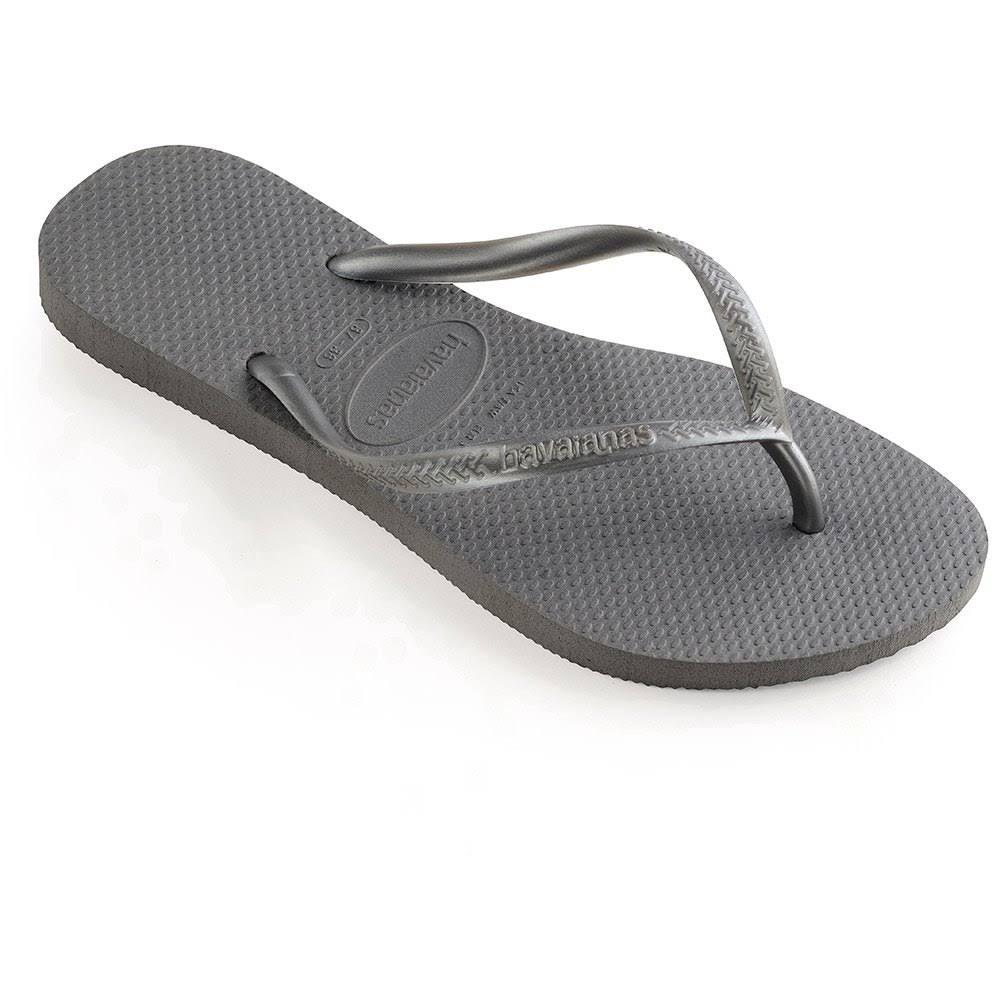 Slippers voor Havaianas Havaianas Slim vrouwengrijs Slim c4j5L3ARq