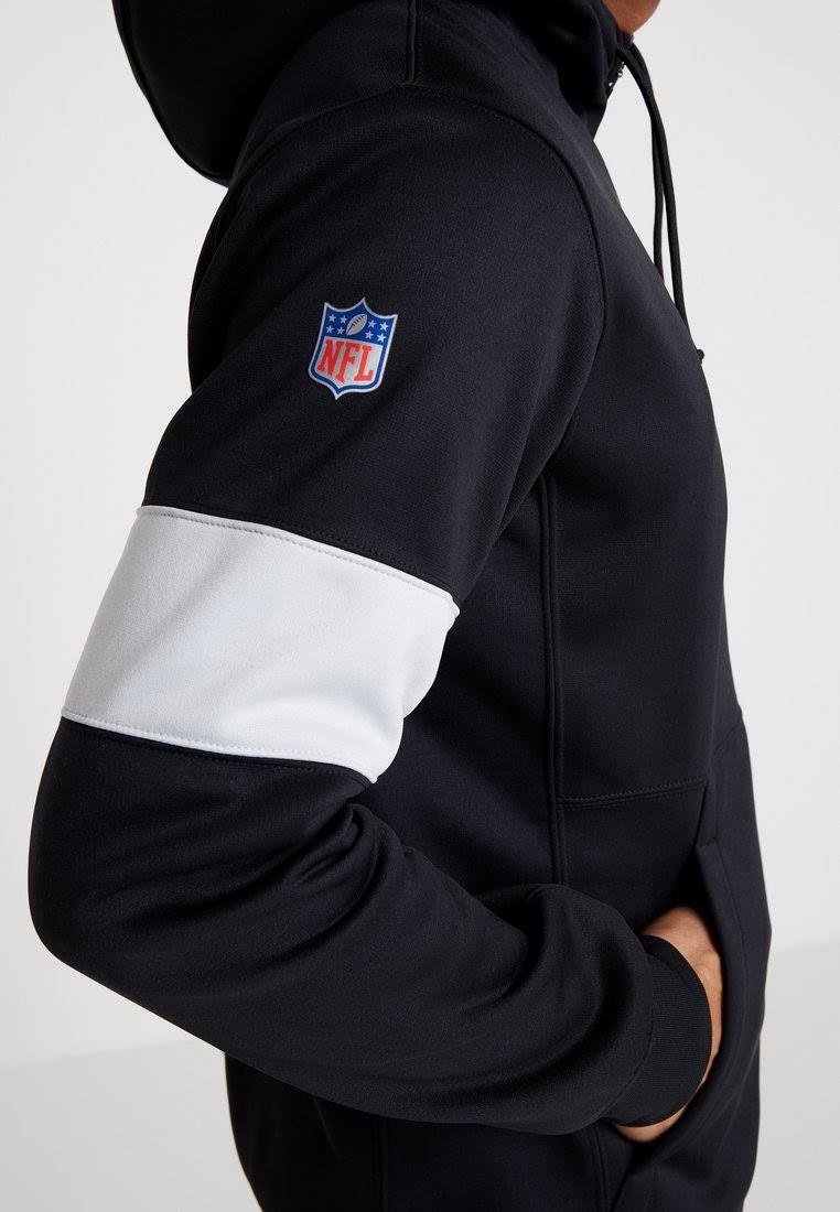Nike NFL Oakland Raiders Therma Hoodie - Black - Mens