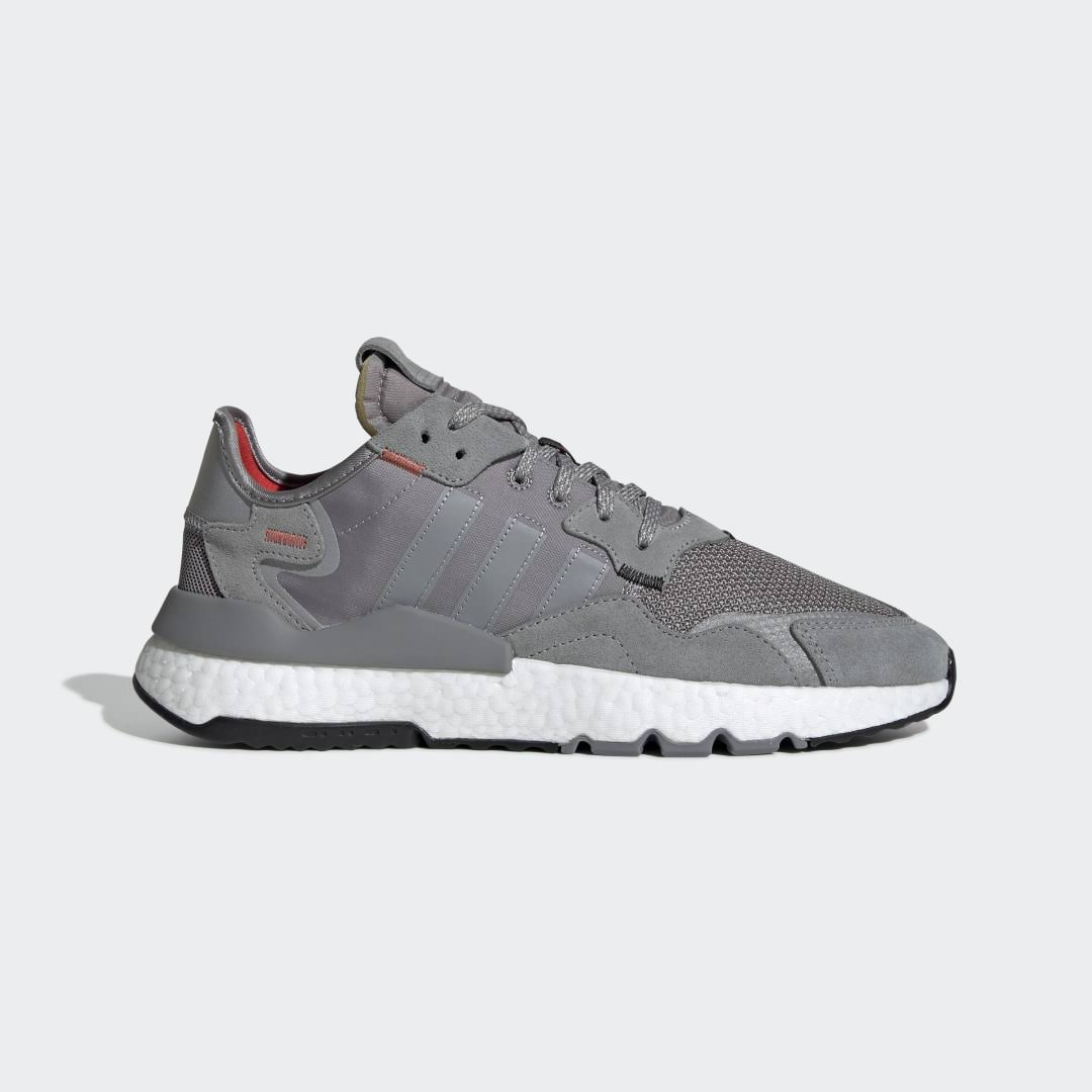 Adidas Originals 'Nite Jogger' Trainers - Grey