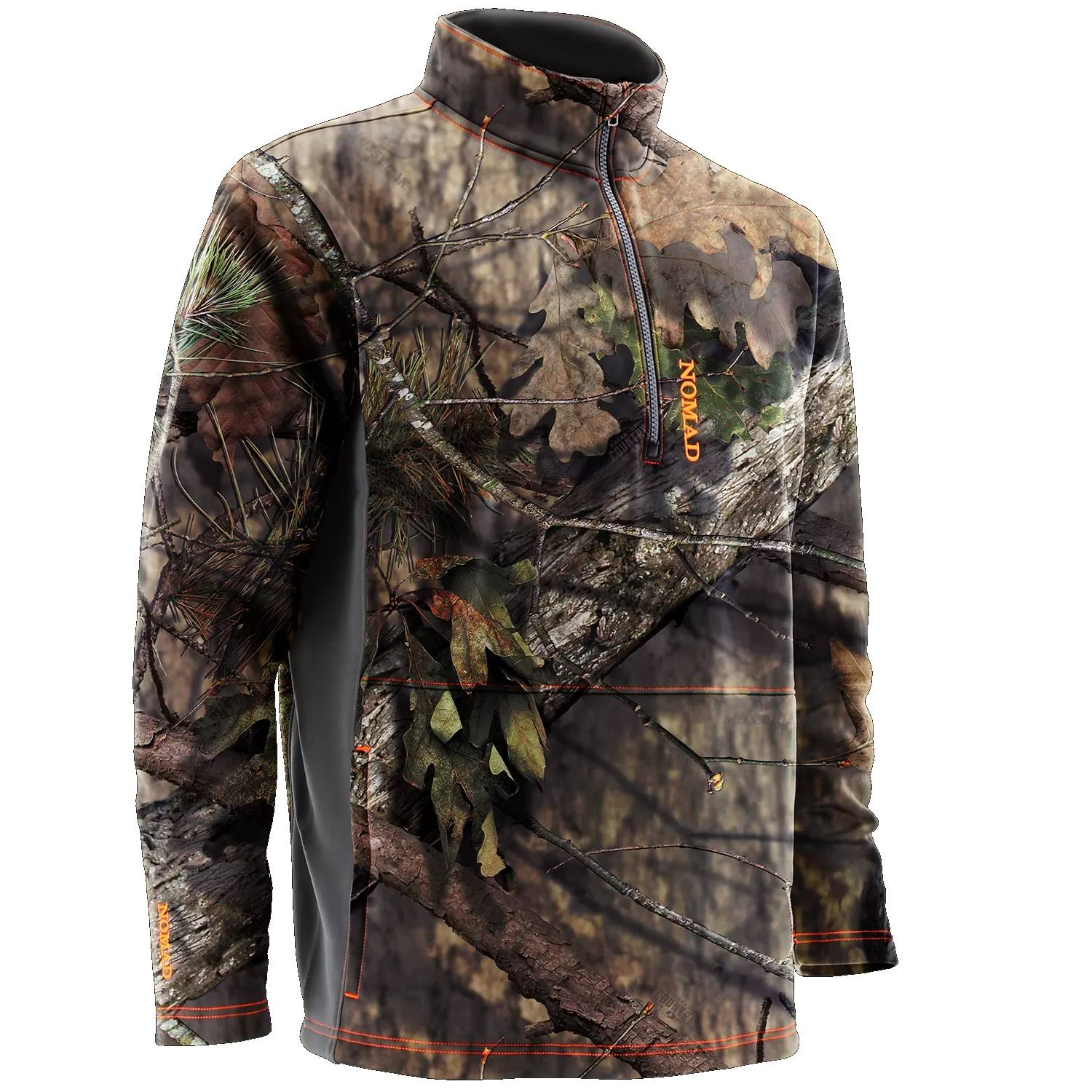 4 Eiche Camo Fleece Country Zip Southbounder Nomad S Moosige 1 px5fntqX0