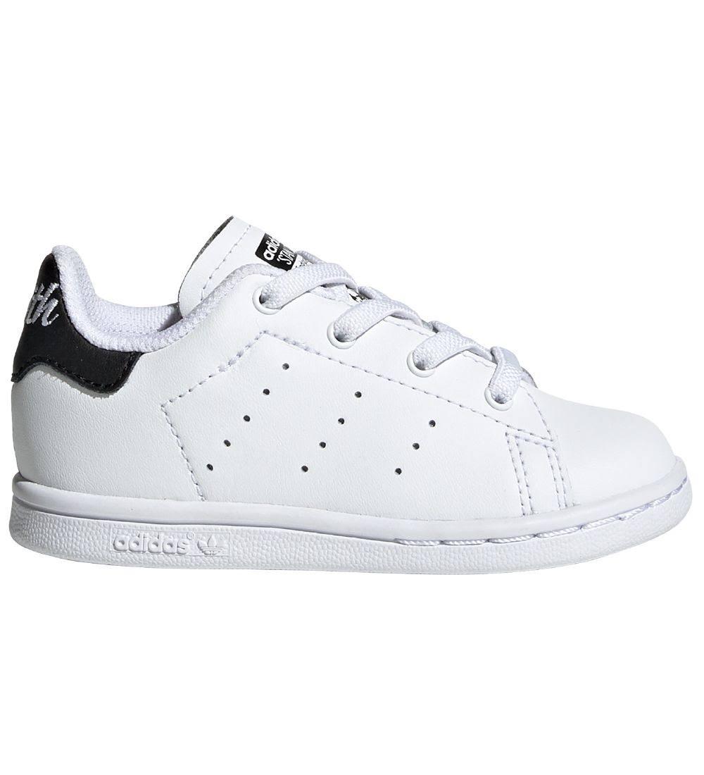 adidas Originals Trainers - Stan Smith El I - White/Black - 19 - adidas Originals Shoes