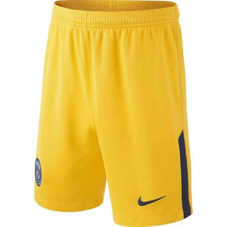 2017-2018 PSG Away Nike Football Shorts (Kids)