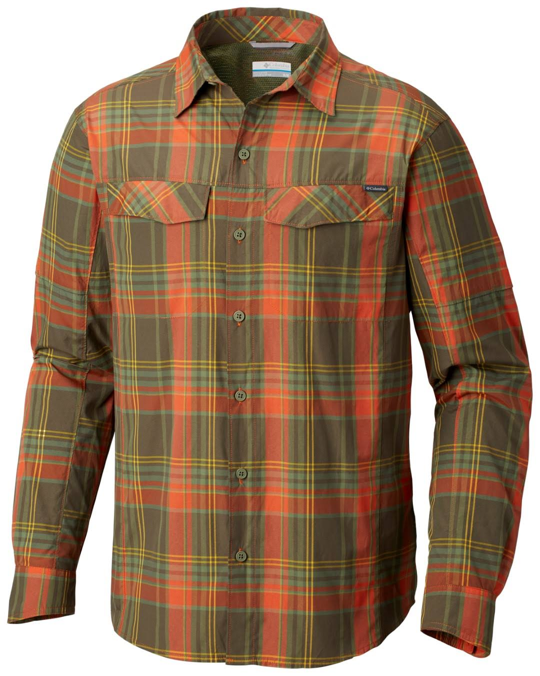 Silver L Orange Ridge Backcountry Sunset Ripstop Plaid Columbia S 7Fwaaq