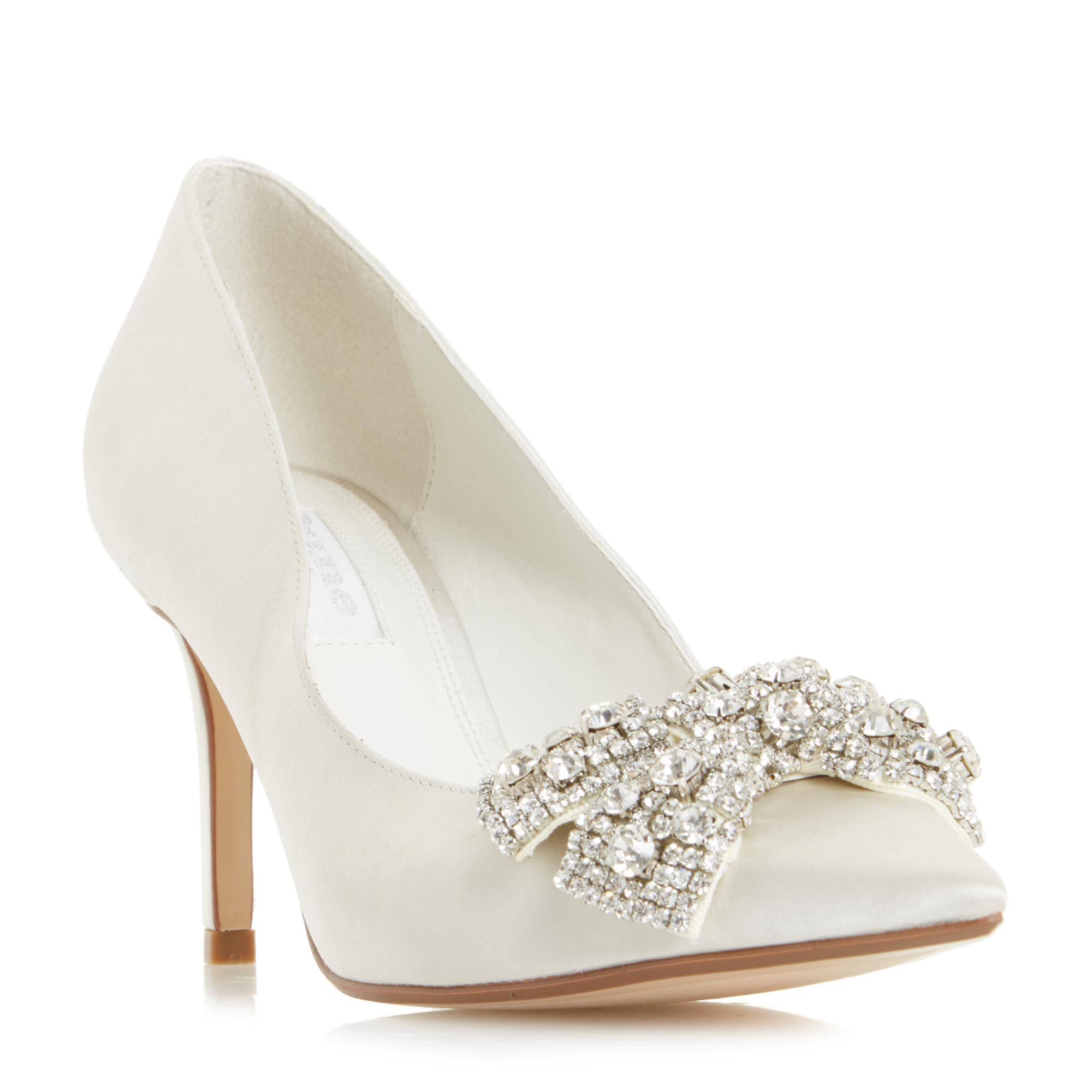 Vk Bow Dune Beaubellee 5 Jeweled In Schoen Hof Dames Maat Puntschoen Ivory PnwOkNX08Z