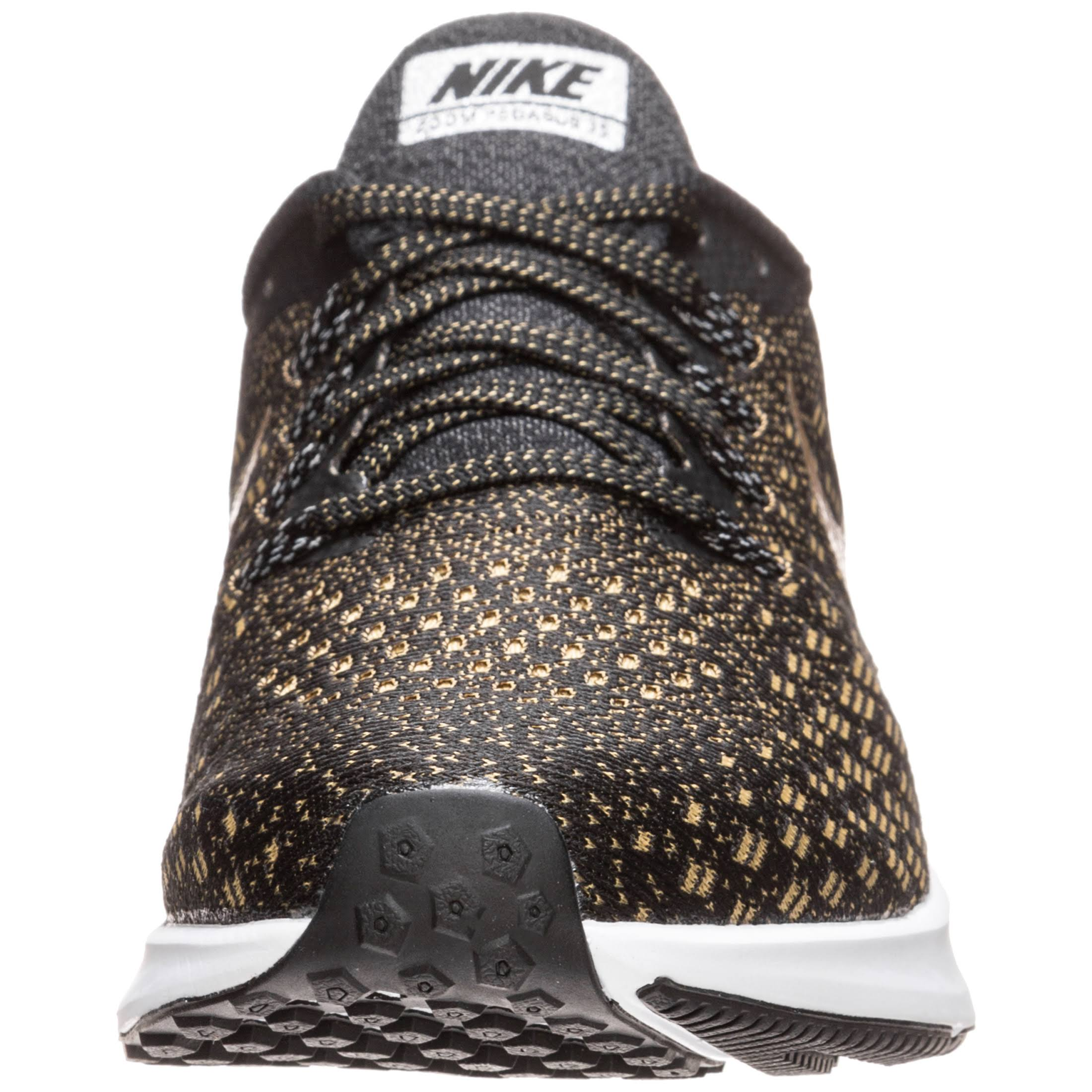 Nike Damen Zoom 35' Pegasus 'air Laufschuh Gold Schwarz 8HnWTHx