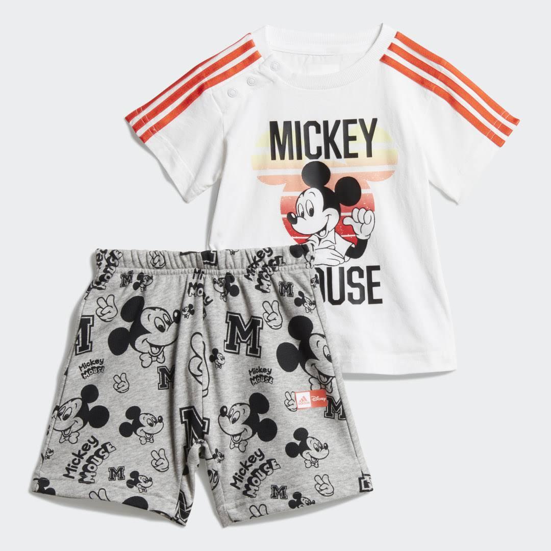 Adidas Disney Mickey Mouse Summer Set - Kids - White