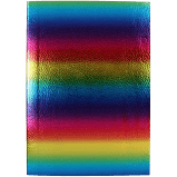 Rainbow A5 Ombre Lined Notebook