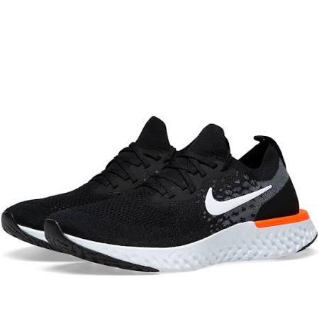 Nike Flyknit Naranja Epic Carmesí React Blanco Negro Y frxHqfRwn