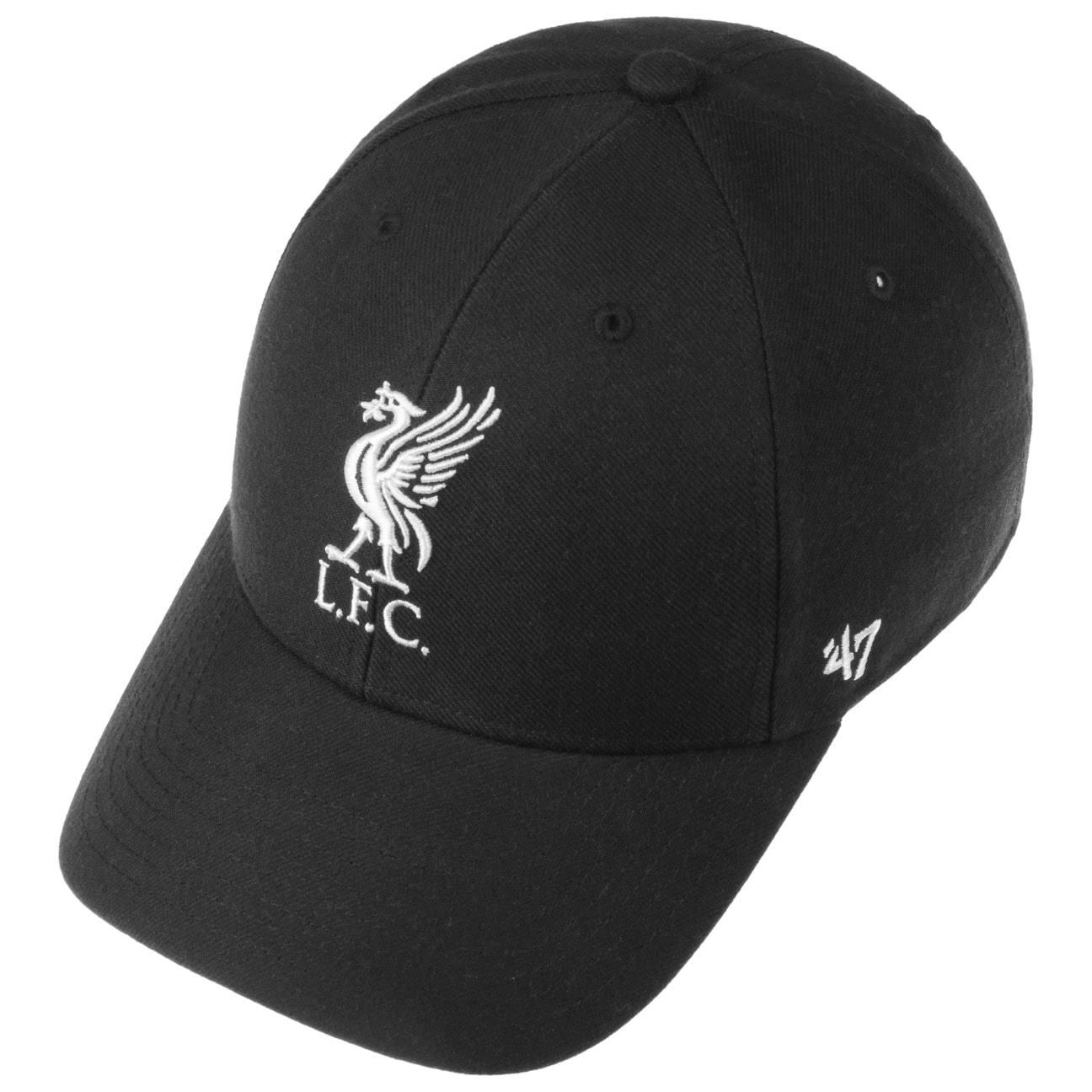 47 Brand EPL Liverpool FC MVP Cap - Black  CIiy7qH