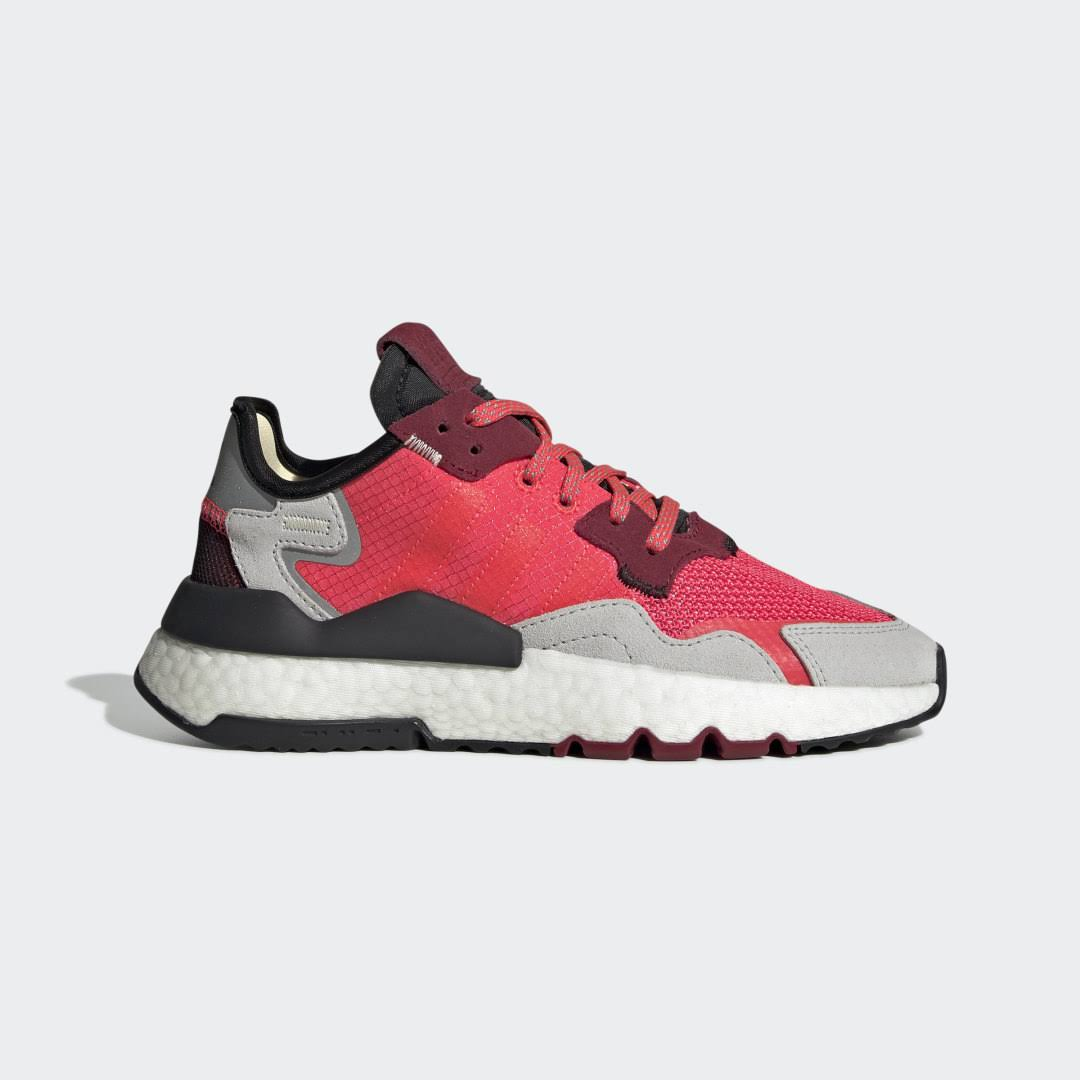 Adidas Nite Jogger Shoes - Kids - Red