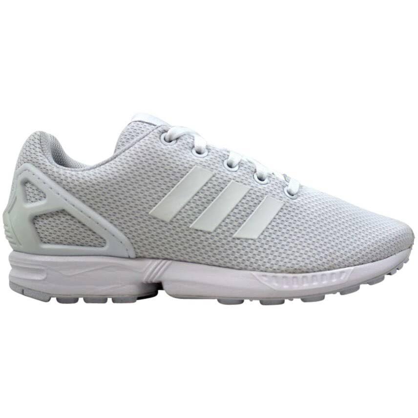 (5) Adidas ZX Flux J Footwear White S81421 Grade-School
