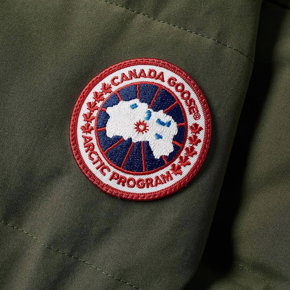 Wyndham Parka Ganso Canadá Military Fusion Fit Green De EHqzqw6