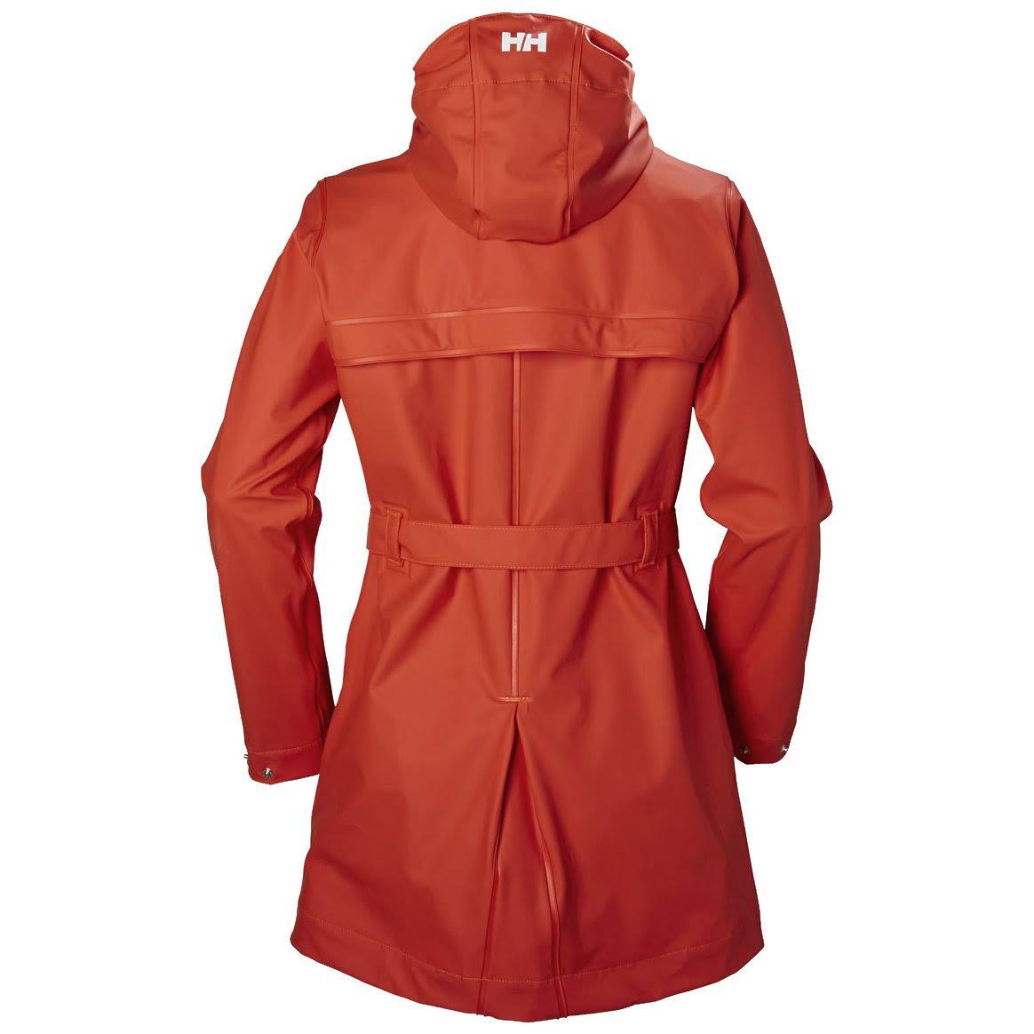 Para 64014 Helly Hansen Negro Kirkwall Chaqueta Rain Button Wp Mujer E48Rgwx4q
