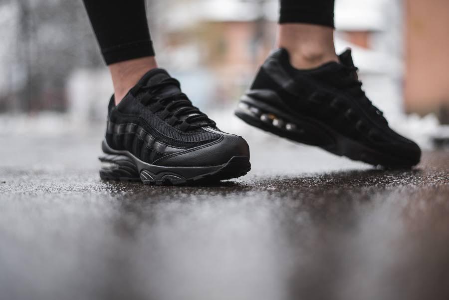 black Black Black Air Nike black Max gs black 95 Y7Xqwxz