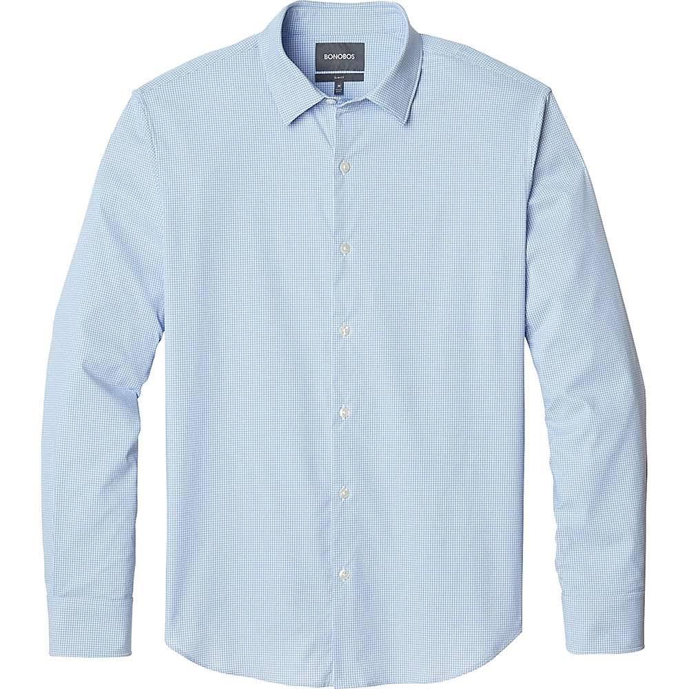 R Slim Deportiva Hombres Tech X Camiseta Azul pequeña Para Talla Fit Hombre Bonobos PqS4SRWwTA