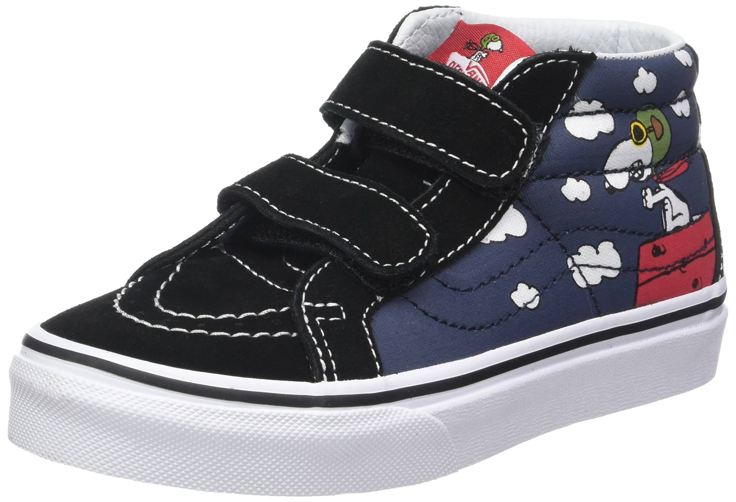 Vans Peanuts Blue Reissue Childrens Dress Flying Mid Sk8 Ace rxSr8WnI