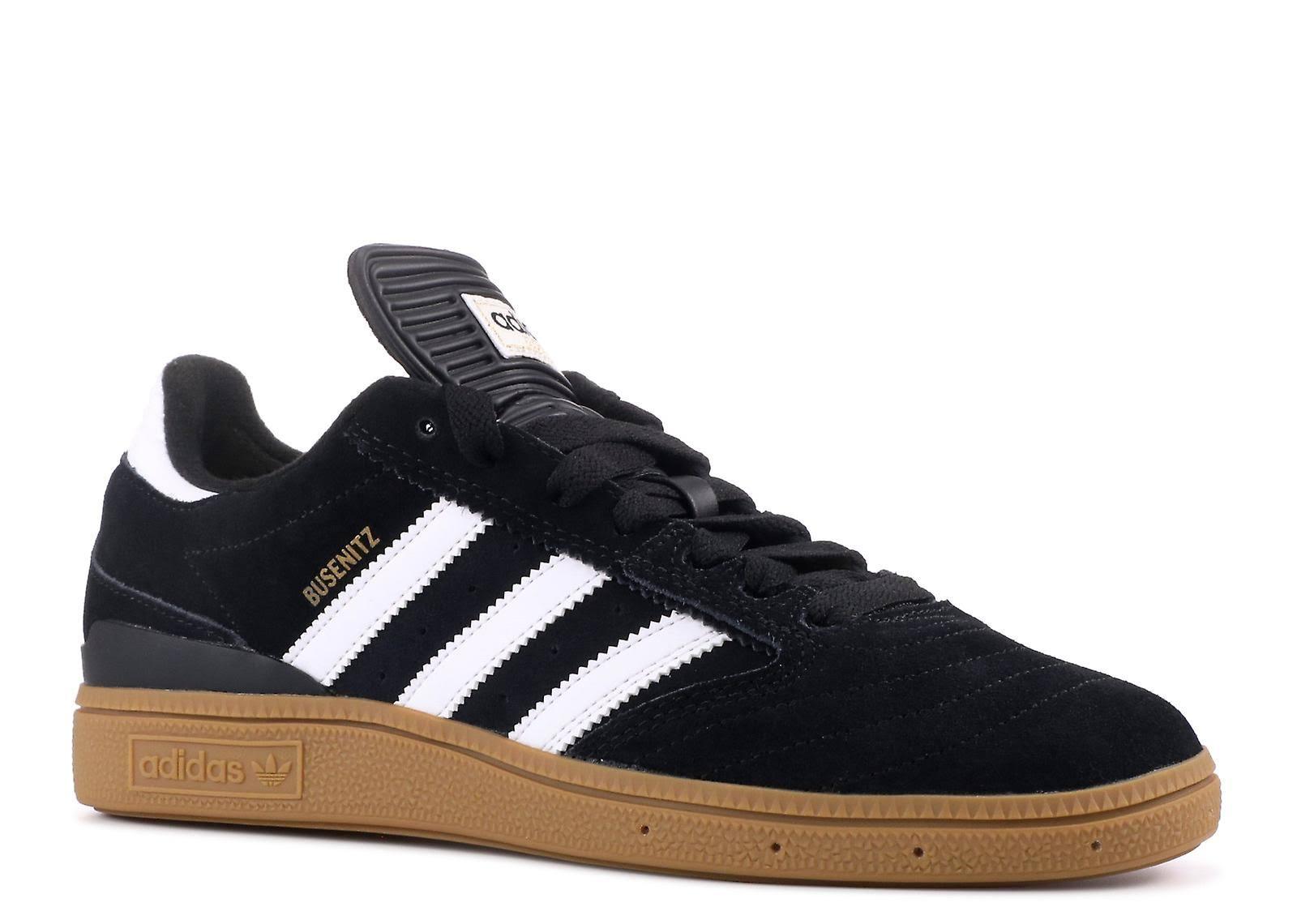 Adidas Busenitz Shoes - Black / Running White / Metallic Gold