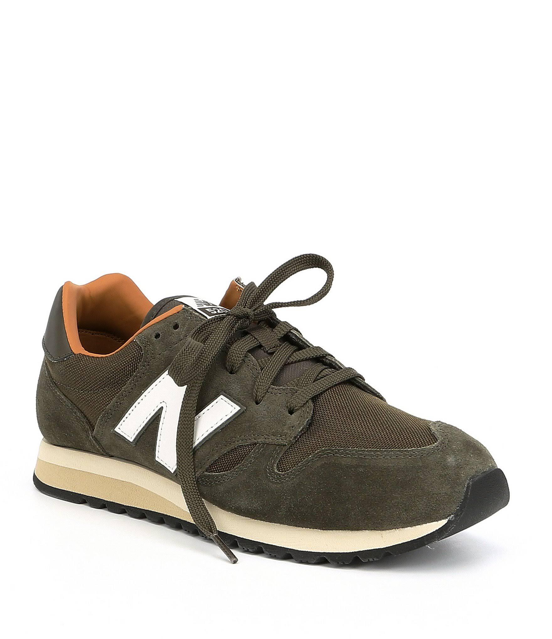 Triumph Sugar Green brown Unisex Balance 520 Military Dark Size 10 Suede New 5m Sneaker qP1waOU