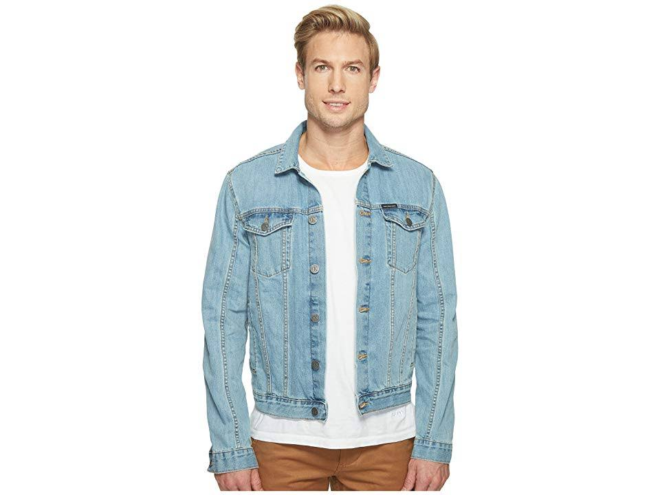 Denim Light Large Wash Klein Trucker Herren Jacket Calvin 6EpfXvwqq