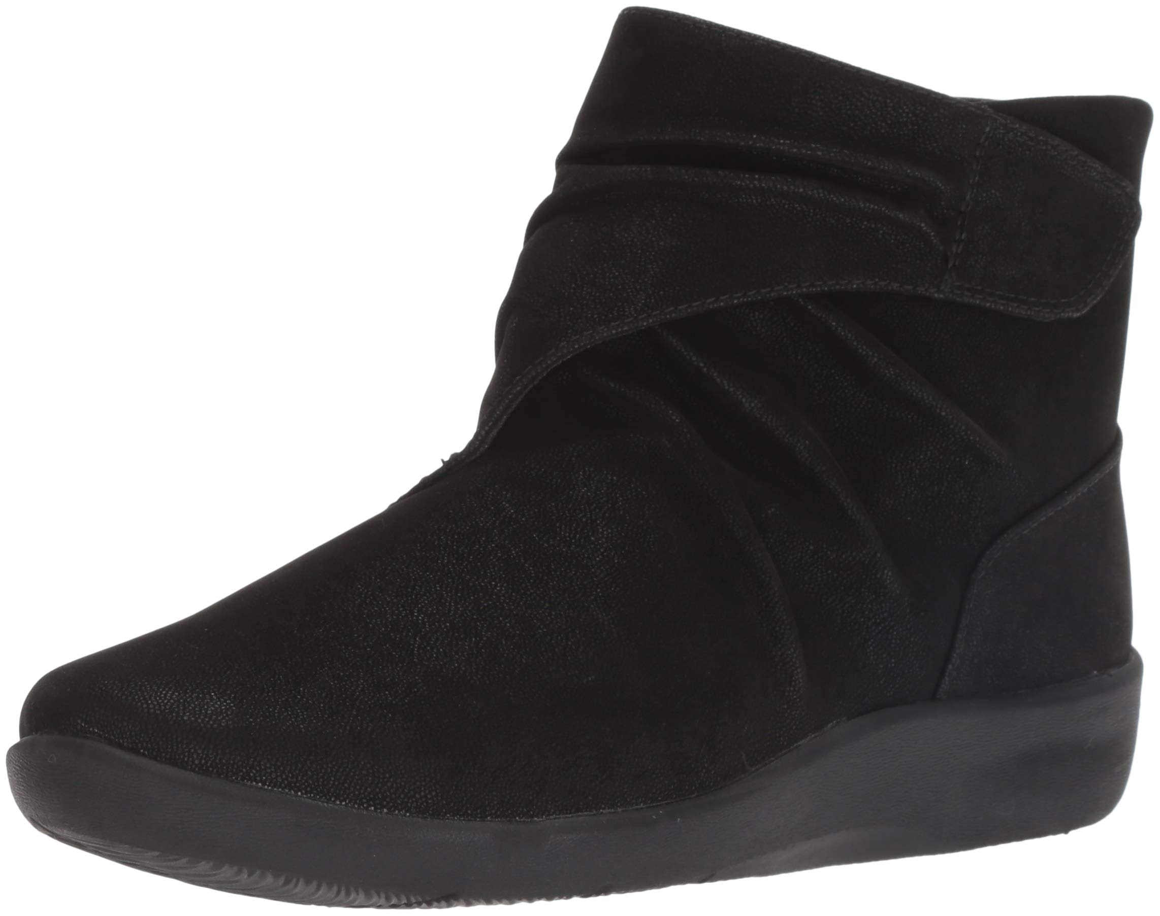 Sillian Fashion Dames Synt Tana Clarks Boot Black qUVSzMpG