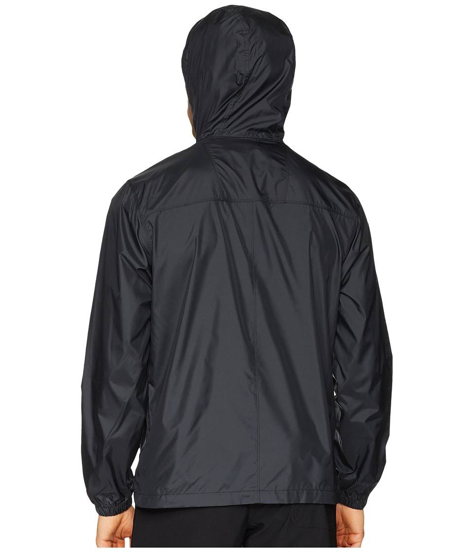 Flashback Xl 158932 Full Zip Schwarz Windbreaker Columbia f75qP