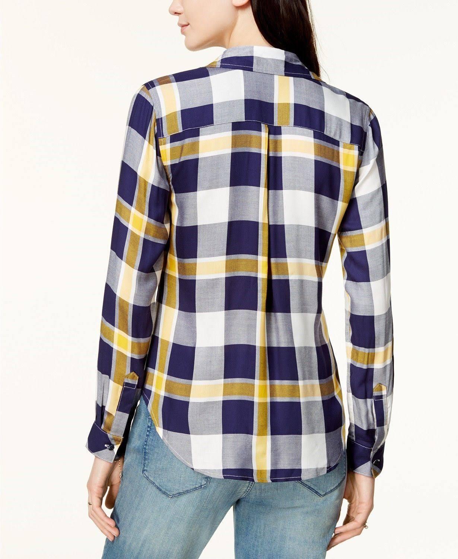 Utility Jules Tamaño Maison Up Xxs Womens Shirt Amarillo Xxs Button 4wf67qR