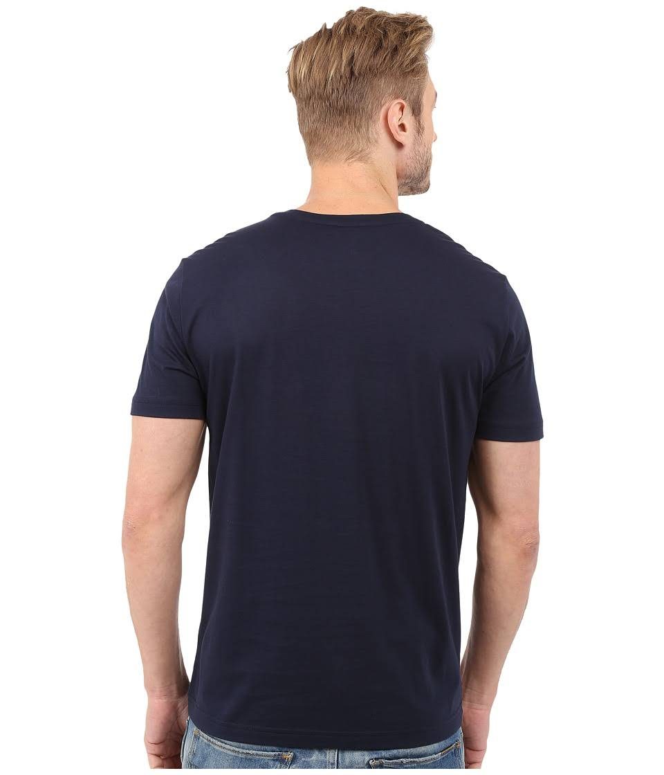 Herren shirt Jersey Marineblau T Pima Mit ausschnitt Lacoste V zxqUgdIn