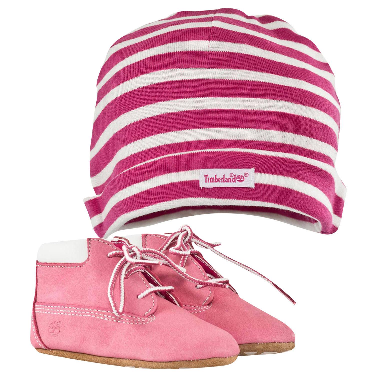 rosa con TimberlandInfantile Bootie culla cappello LzpUVqSMjG