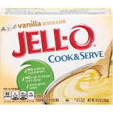 Jell-O Cook & Serve Vanilla Pudding & Pie Filling 4.6 oz