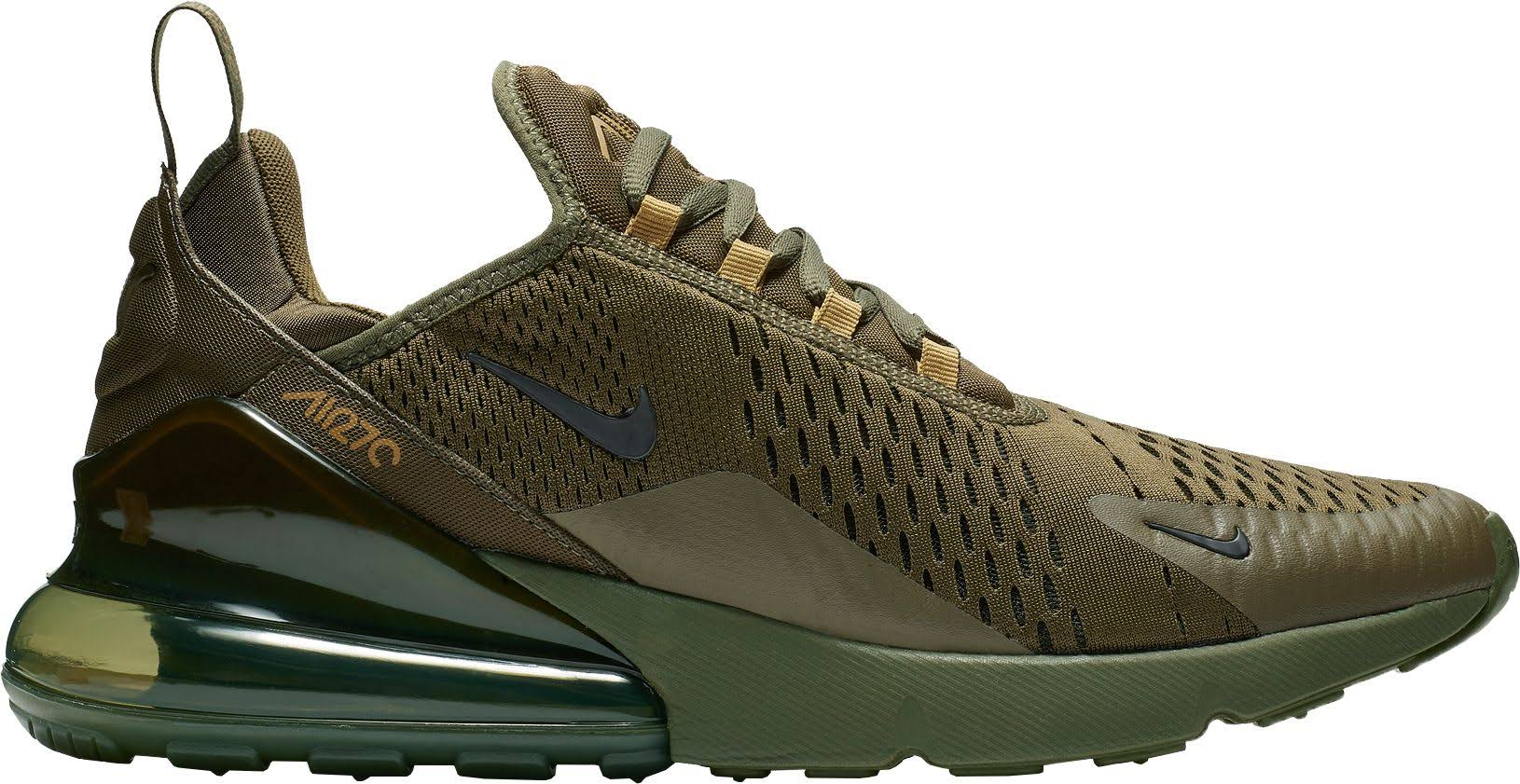 Talla 270 8 Zapatillas 0 Canvas Para Nike Air Max Olive Hombre 0xqq4pYt