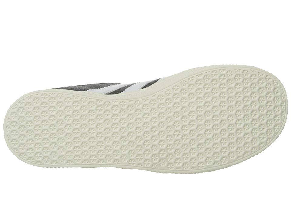 2 Originals Préscolaires Blanc Chaussures Or 2 Foncé Garçon Gris 5 Métallique Adidas Taille Gazelle Pour d1wpEE