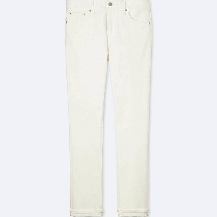 Jeans Herren Uniqlo Fit Weiß Für 46 Zoll Slim HIHSFE
