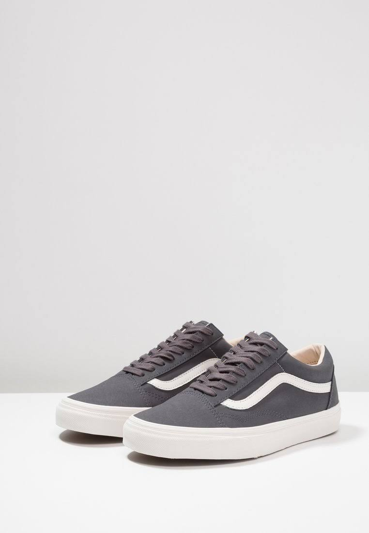 Old Eu Skool 37 Vans Anthrazit 8qFwxd4