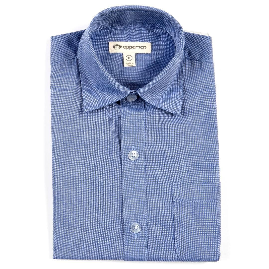 Solid Blue 10 2 Standard Admiral 2 Appaman shirt Größe Langarm Blau U5wSggTqn