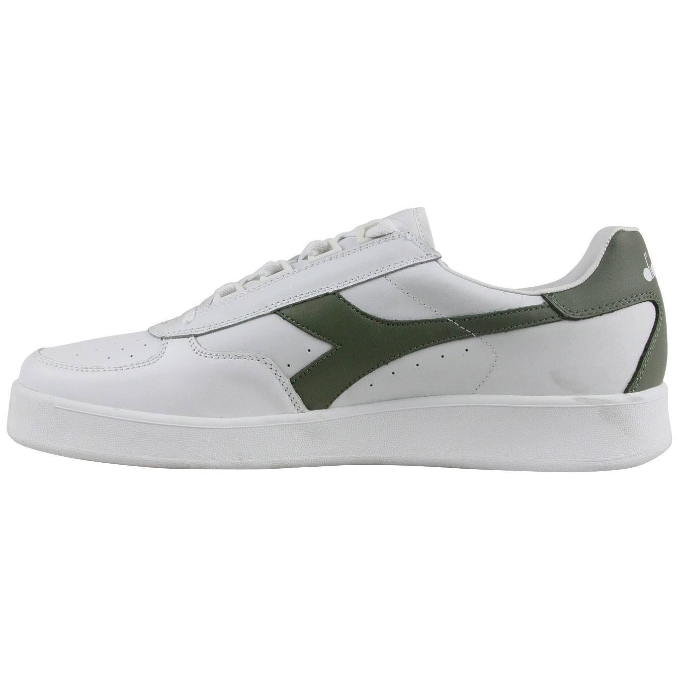 Elite Olivine Sneakers da stringate Diadora bianco Verde; uomo White B F5l31uTKJc