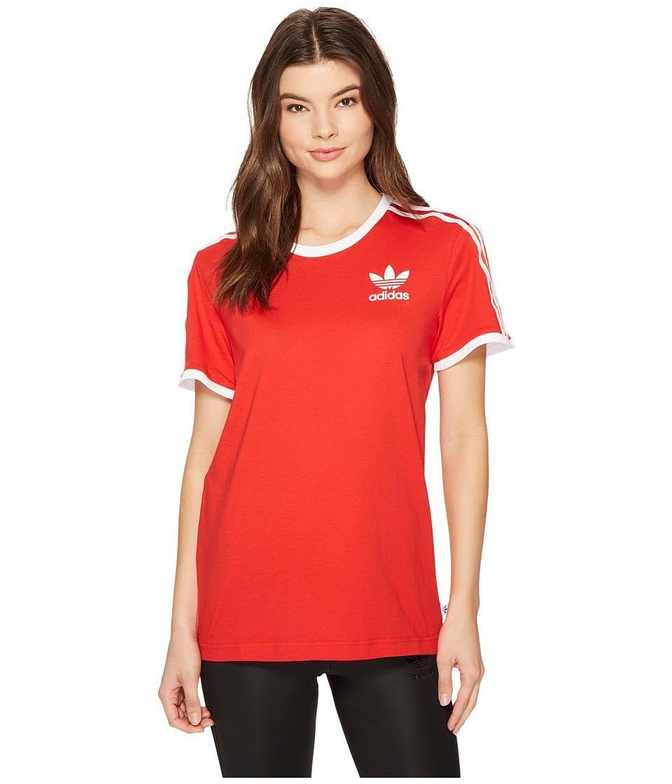shirt Originals T 3 Small Streifen Dreiblatt Damen Größe Ce5437 Adidas Y6aw5