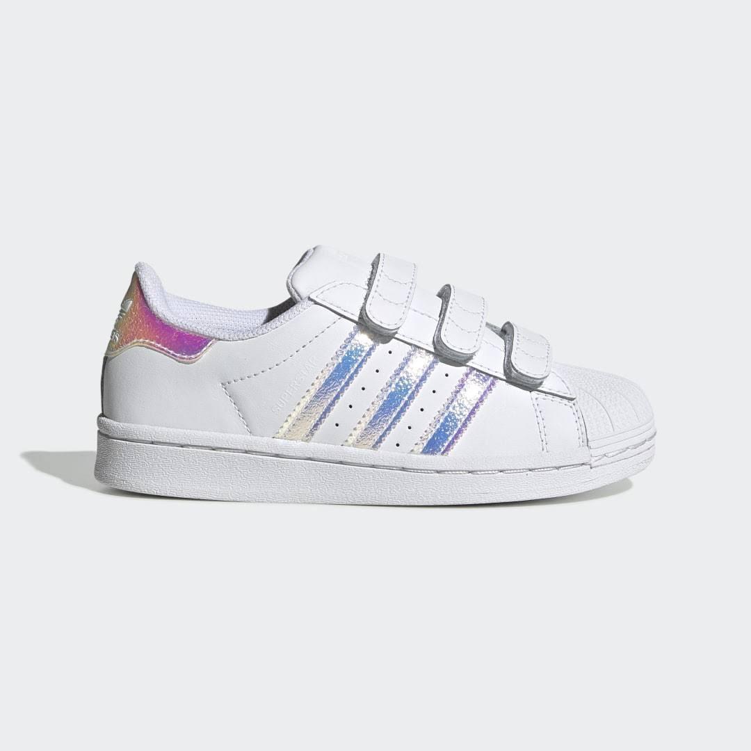 Adidas Superstar Shoes - Kids - White