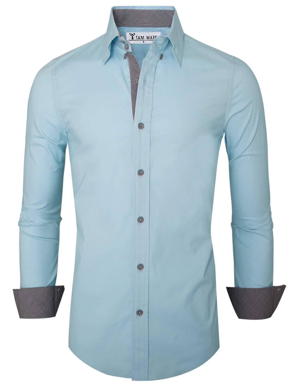 Mens Tam Mit Premium Freizeithemd Innenkontrast Ware axxB5TAq