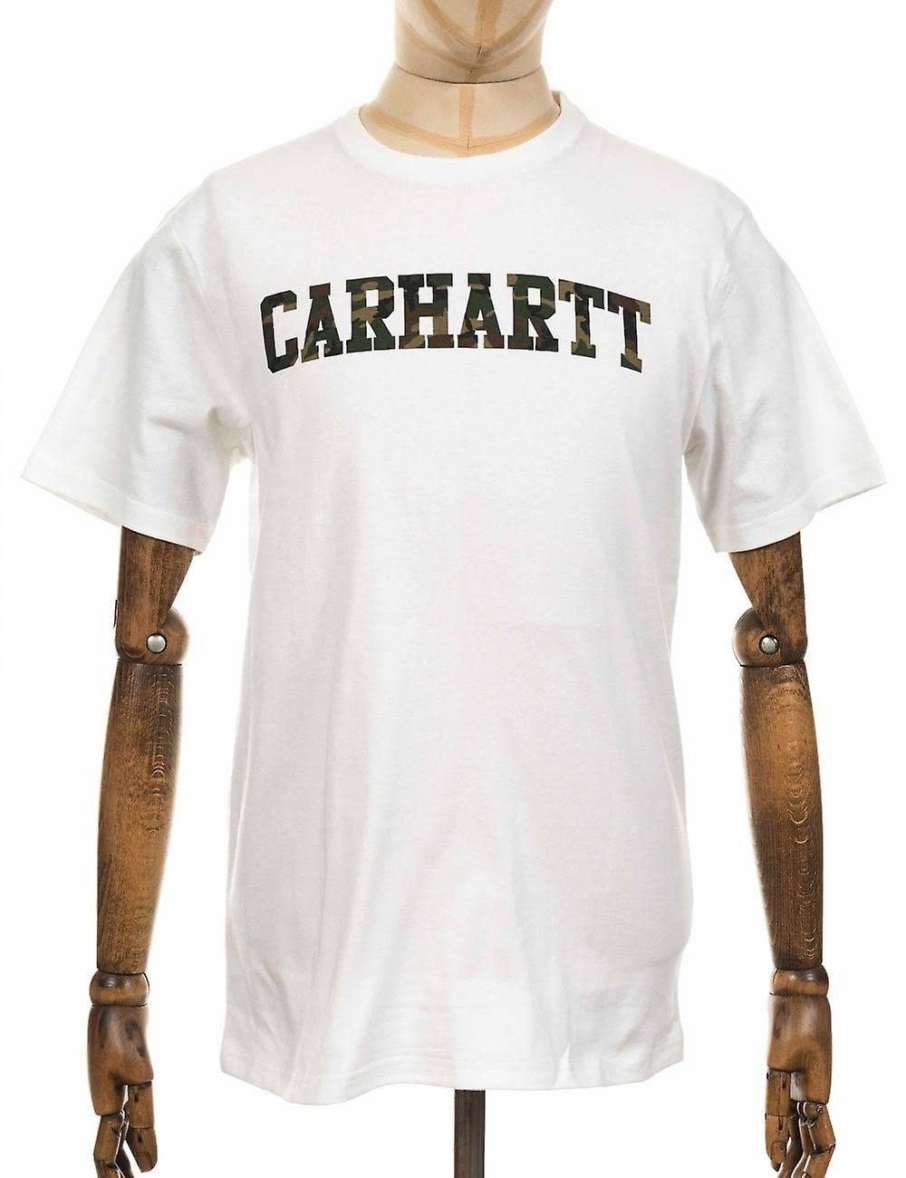 Wip uomo Carhartt scuro shirt T T shirt verde bianco EHD29WYeI