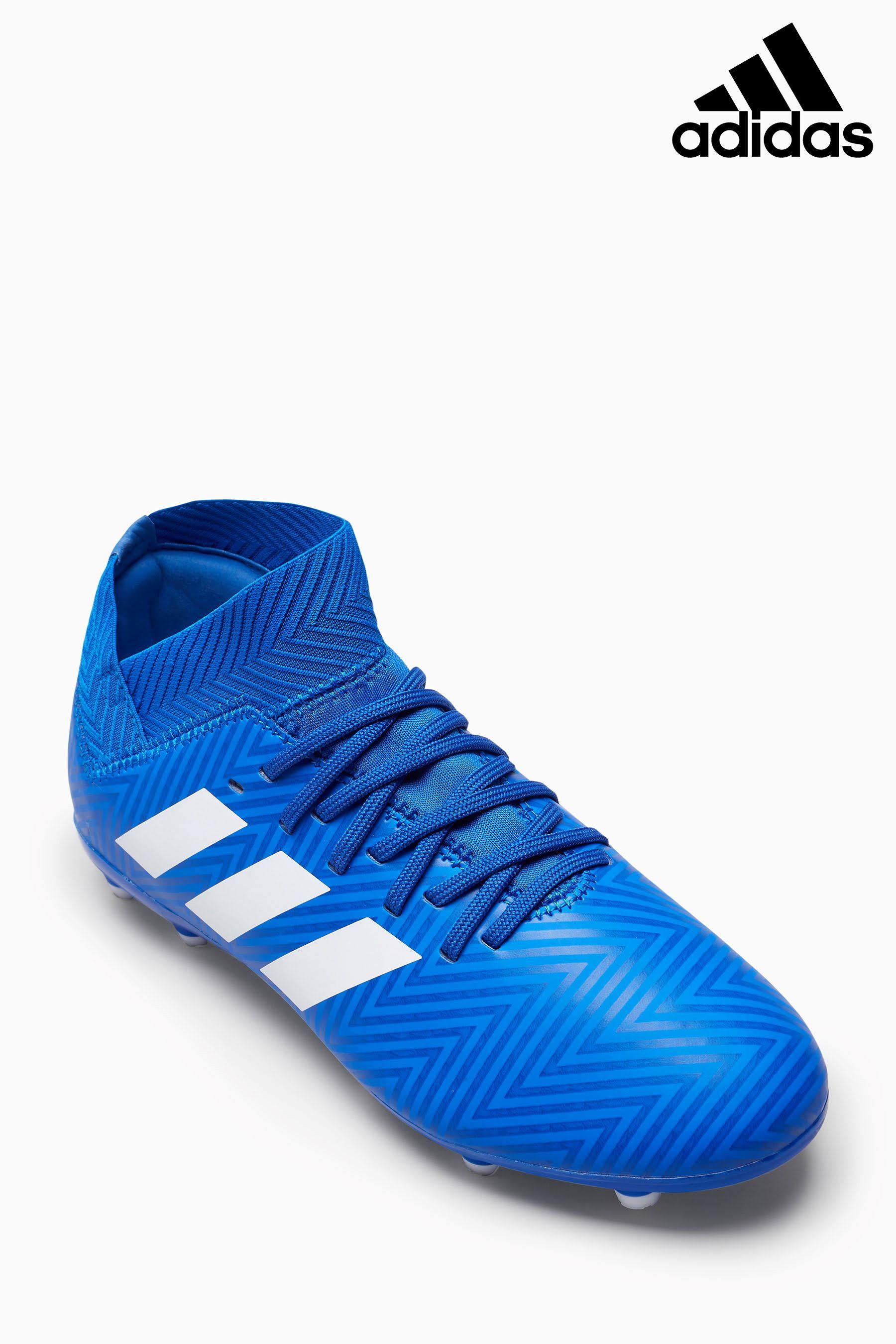 Fg Fútbol 18 Tacos Hombre Adidas De 7 Tamaño Nemeziz Azul 3 Para x8qwTqCI