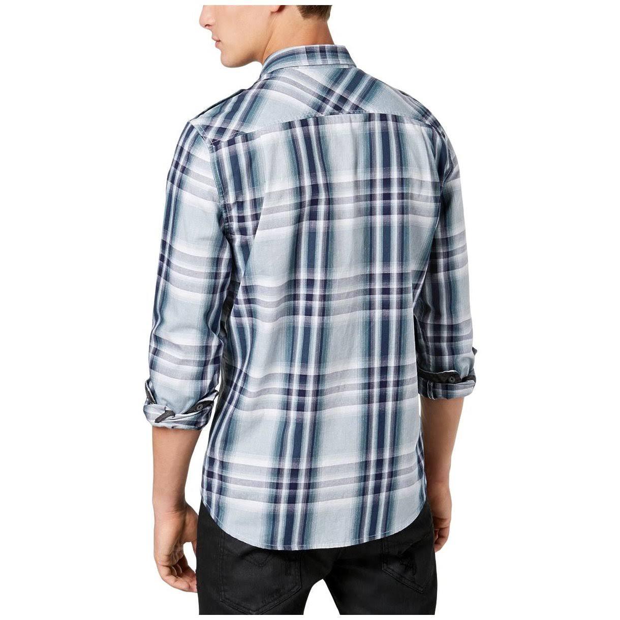 Regular A Con Corte Camisa Jasper M74h77r9q00 Cuadros Botones De AZwYqIS