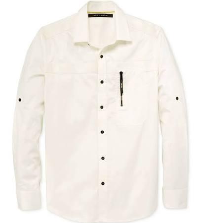 Sean Tejida Fw163408 Con Para Camisa Hombre Abotonada Cuello John rzPOr