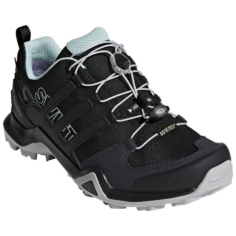 B Women's Gtx R2 Adidas Terrex Swift Medium black Black 12 Walking Shoes Green ash Outdoor XOnRZnxf
