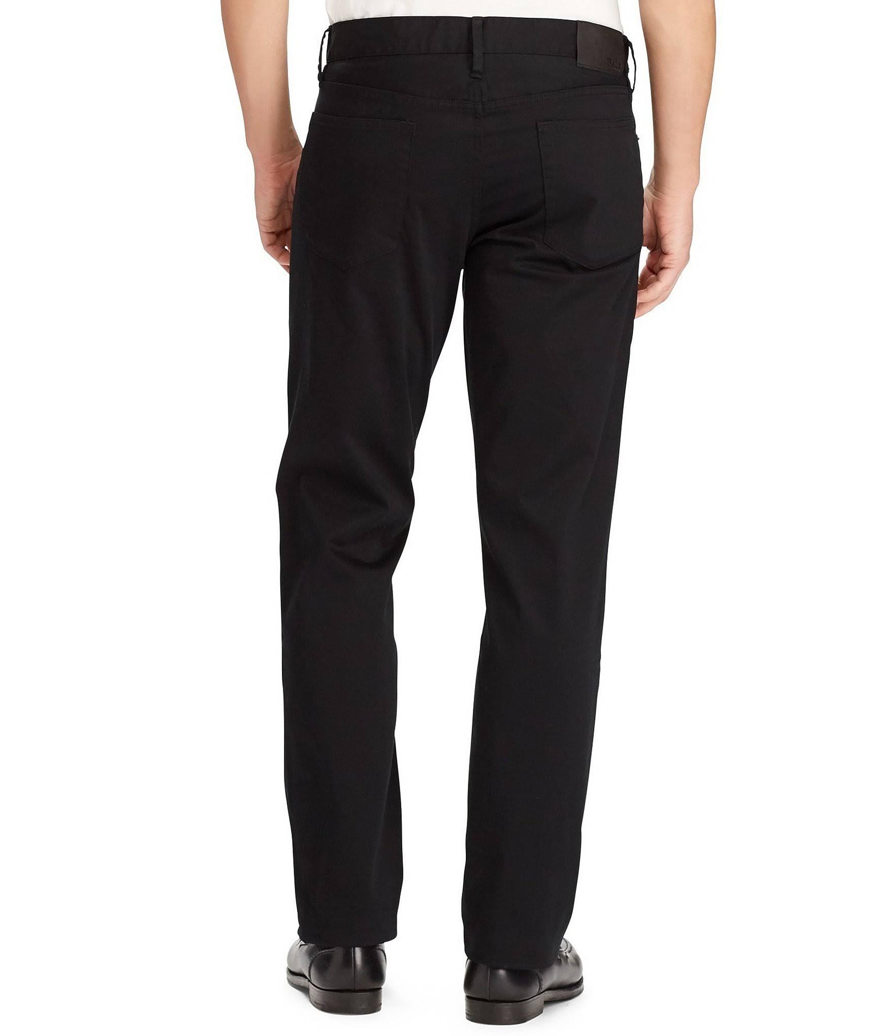 Schwarz Prospect Herren Lauren Ralph Straight Jeans 34 36 Stretch Hose X Polo FvUqw7n